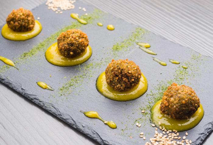 polpettine di quinoa e spinaci